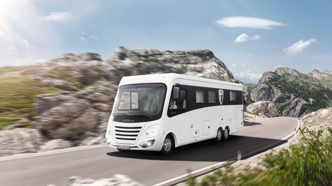 """""""Next Generation"""" heißt das Konzept für das Modelljahr 2014. Die nächste Generation seiner Reisemobile präsentiert Morelo auf der CMT."""