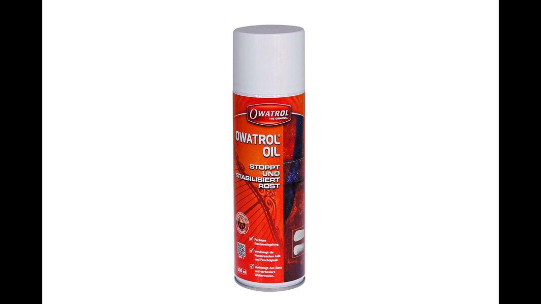 Owatrol-Öl ist stark hydrophob und verdrängt Feuchtigkeit sogar aus Holzplatten und -leisten.
