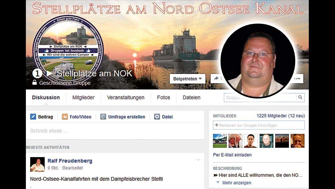 """""""Stellplätze am NOK"""" sind die Leidenschaft von Gruppen-Gründer Ralf Freudenberg."""