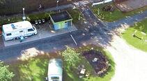 Stellplatz-Tipp: Bedburg, Einfahrt