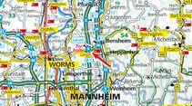 Stellplatz-Tipp: Lorsch, Karte