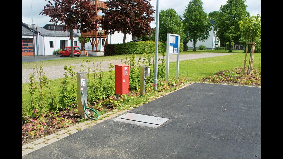 Stellplatz-Tipp: Rüthen, Entsorgung