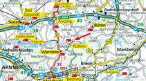 Stellplatz-Tipp: Rüthen, Karte