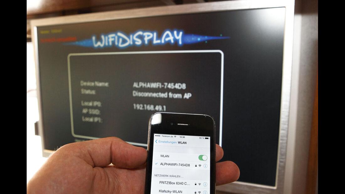 Zubehör: WFM1, Bildschirm