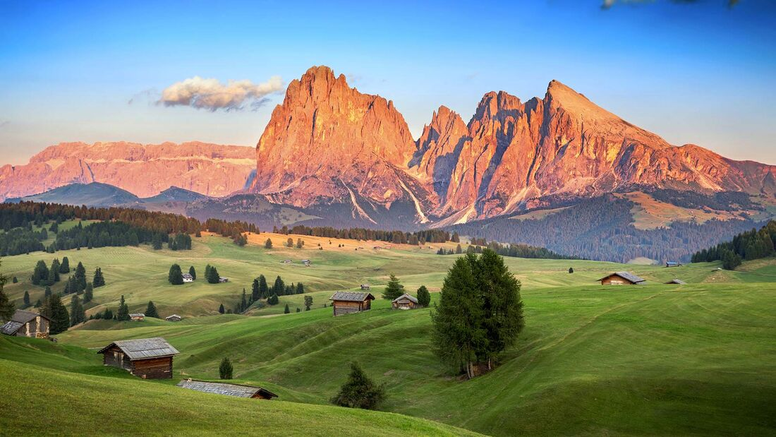 12 Campingplätze Südtirol