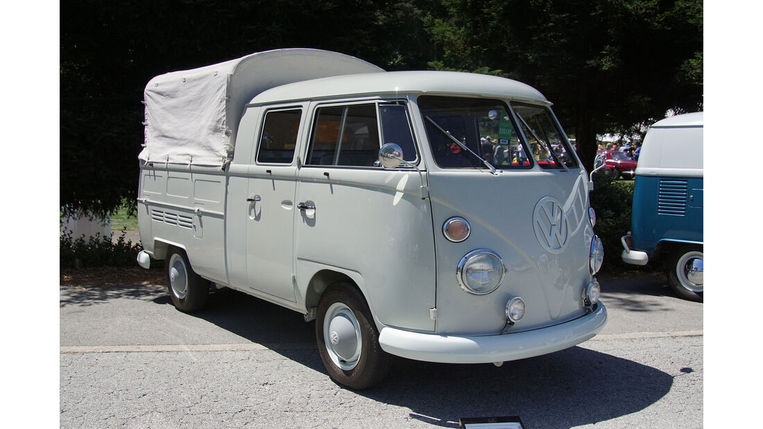 1966-VW-Transporter-Type-265-Double-Cab-Pickup-Truck-LHD