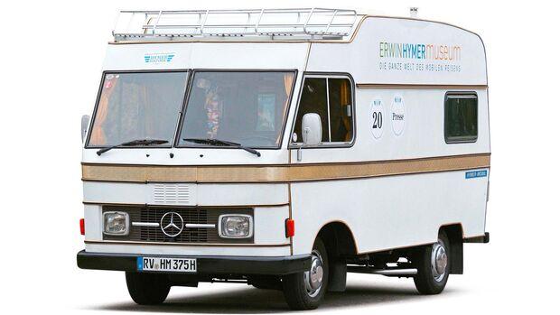 1975 erhielten die Reisemobile ein einheitliches Aussehen.