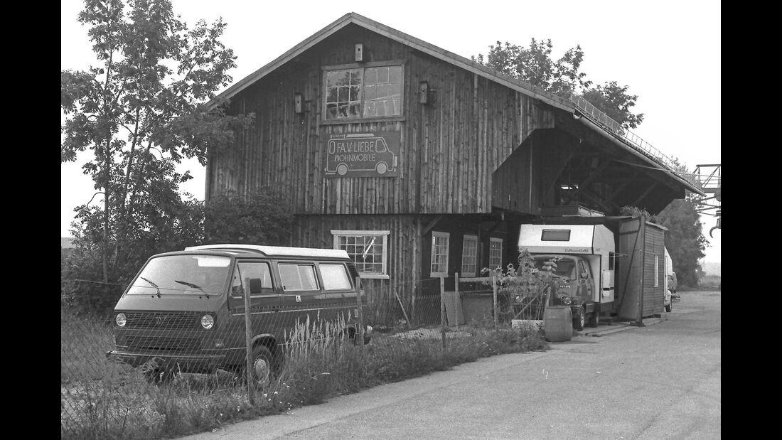 1979: Die erste eigene Werkstatt, die ersten Fahrzeuge.