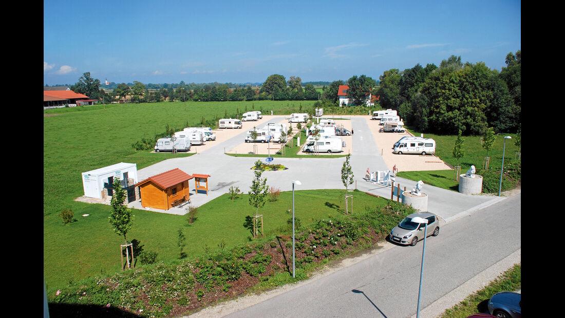 30 Jahre promobil: Stellplatz-Entwicklung
