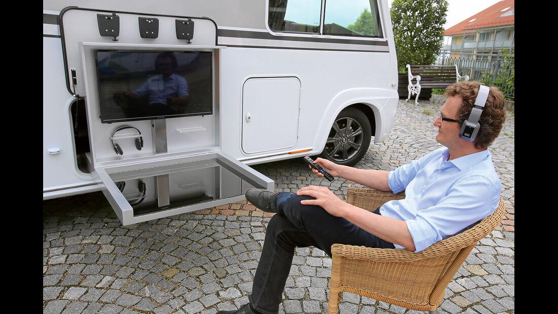 32 Zoll Fernseher fuer Draussen.
