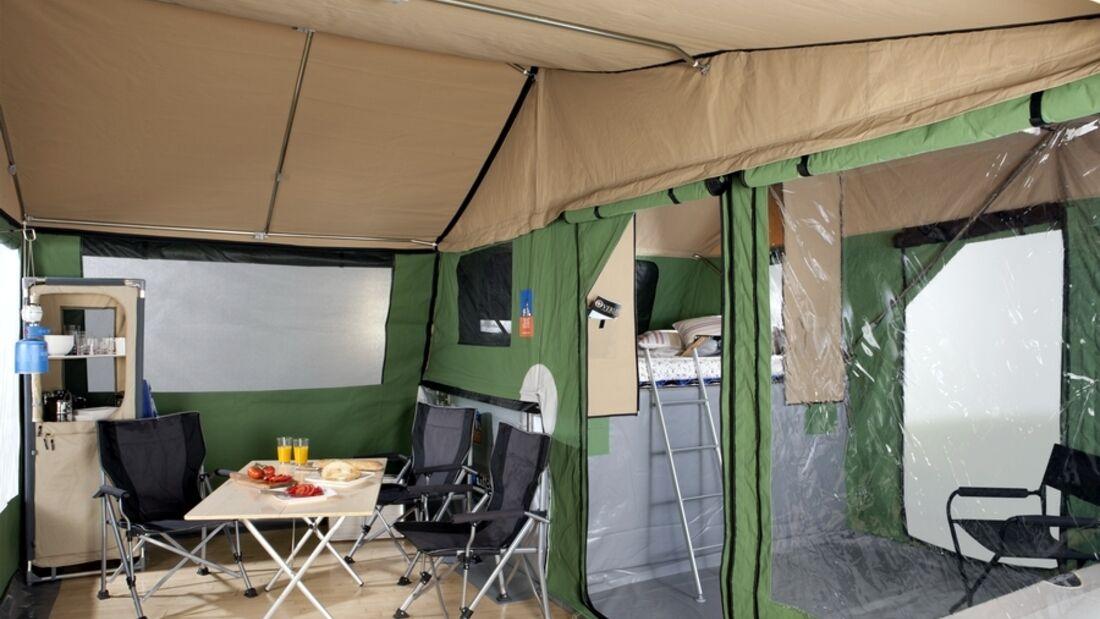 3Dog Camping verwendet neuerdings Edelstahl für Zeltgestänge und verlängert auch deren Garantiezeit auf zehn Jahre