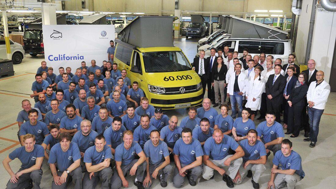 60.000ster VW California produziert