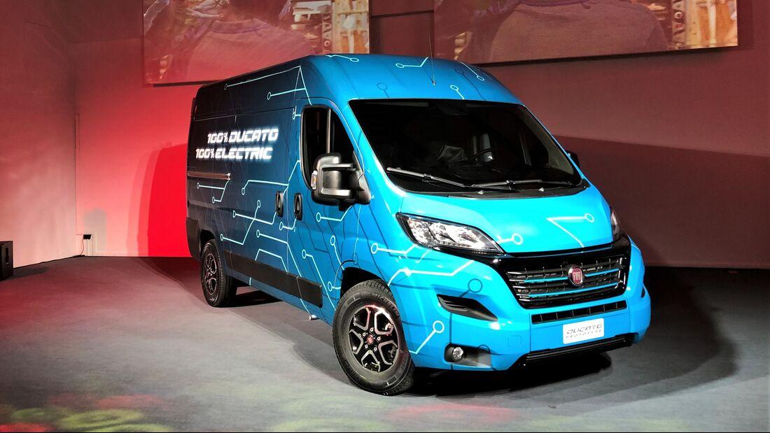 7/2019, Fiat Ducato Electric