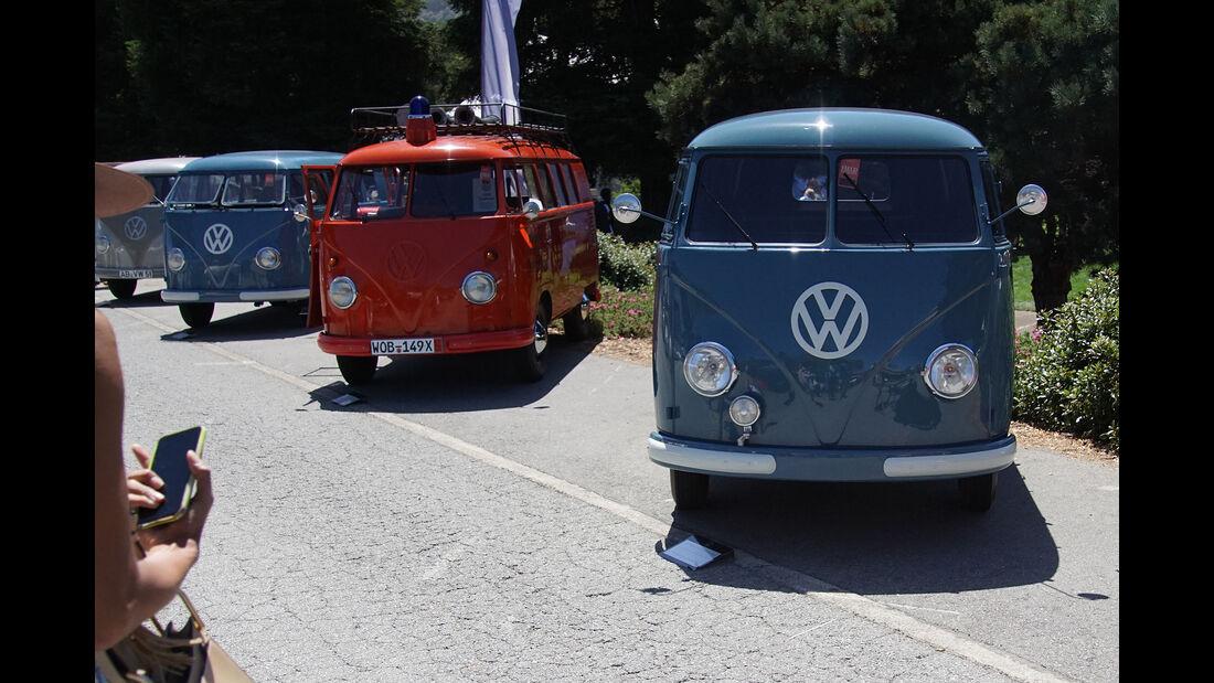 70 Jahre VW Transporter bei The Quail 2019