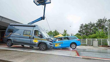 ADAC Wohnmobil-Crashtest 2020