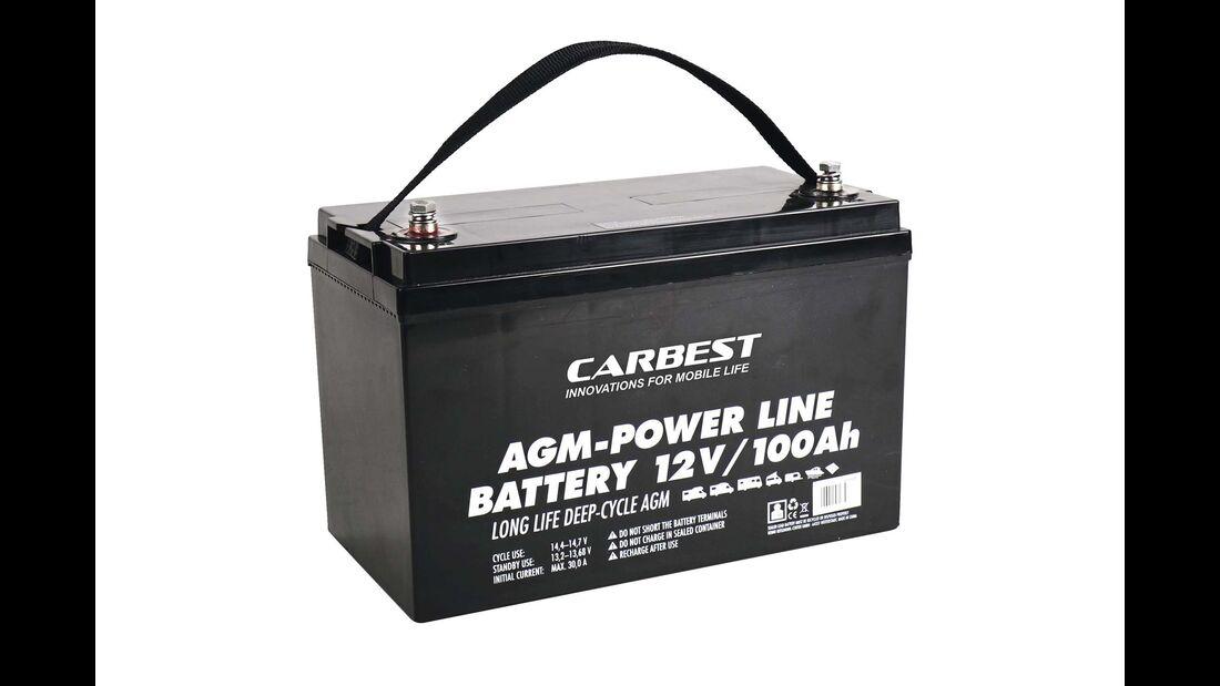 AGM-Batterien Carbest