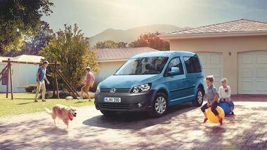 Ab sofort bringt VW die neuen Sondermodelle Caddy JAKO-O und JAKO-O Edition mit bis zu 5.817 Euro Preisvorteil auf den Markt.