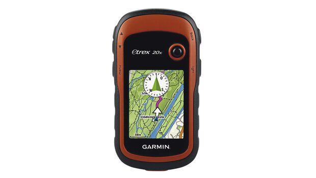 Abseits ausgeschilderter Wanderwege profitieren Wanderer von einem wetterfesten GPS-Gerät wie dem Garmin eTrex 20x.