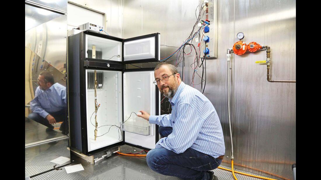 Absorberkühlschrank im Test