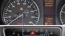 Abstandswarnassistent: Warnt vor dem Auffahren auf den Vorausfahrenden.