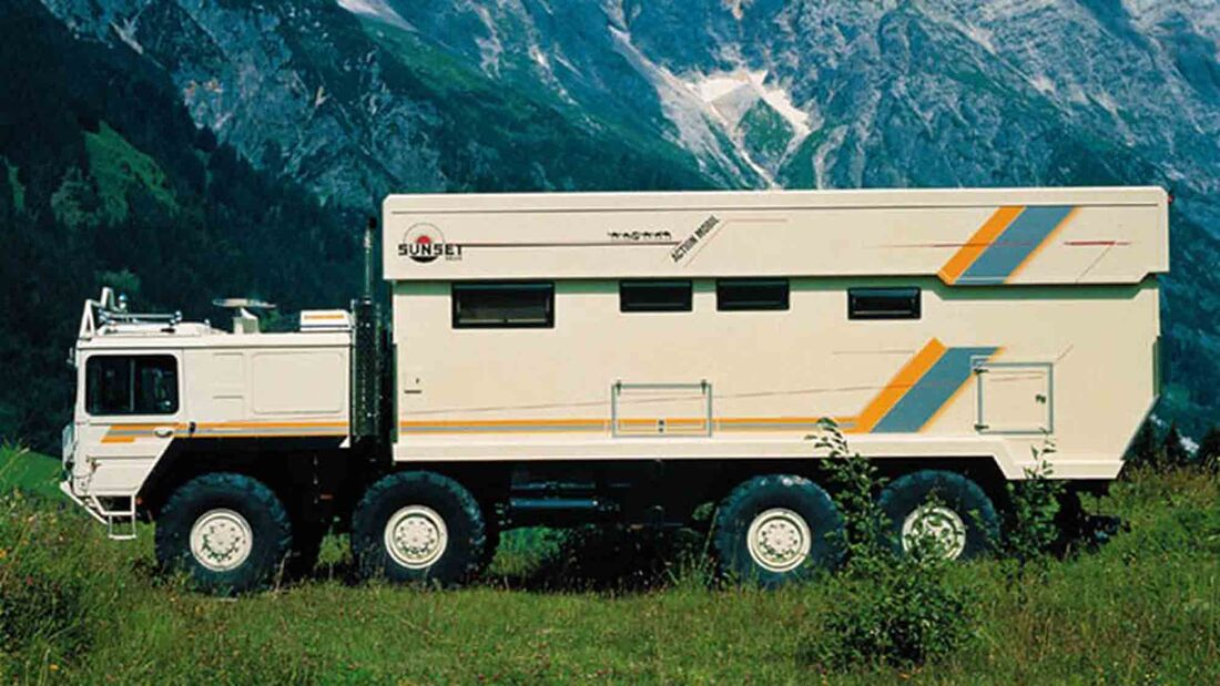 Action Mobil Outback IV auf MAN