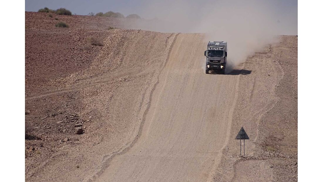 Action Mobil in Namibia