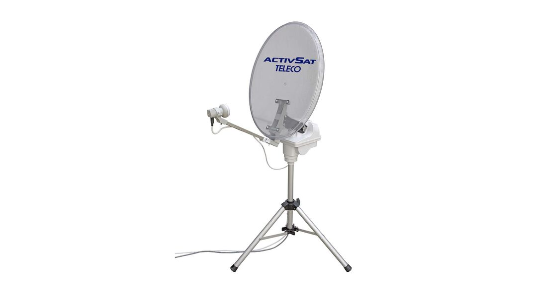 Activ-Sat-Anlage Teleco