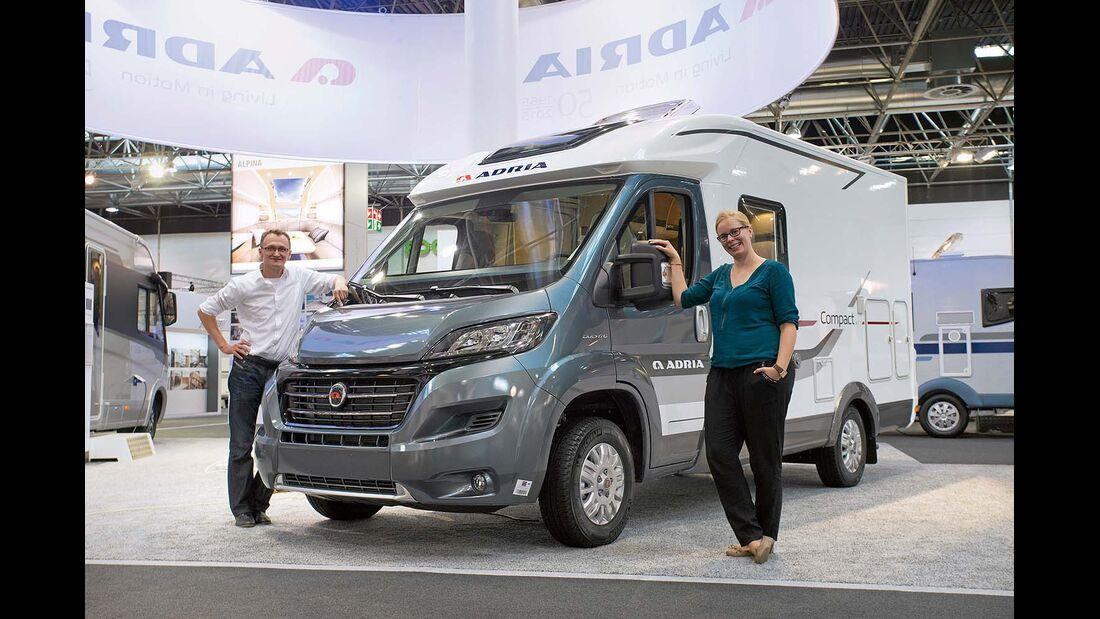 Adria Compact SLS mit knapp sechs Meter Länge