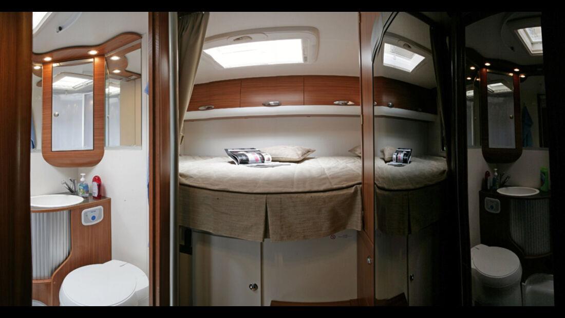 Adria Matrix 680 SP Innenraum