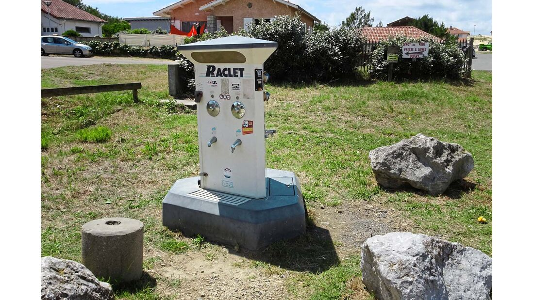 Aire de Camping-Cars in Contis-Plage