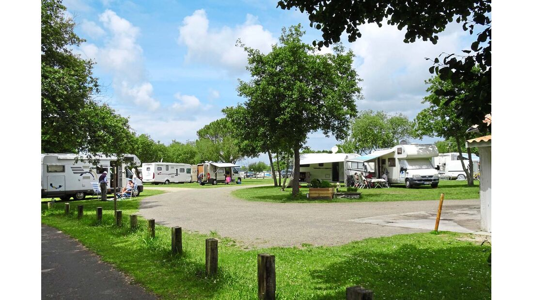 Aire de camping-cars in Gastes