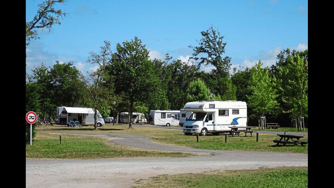 Aire de camping-cars in Léon