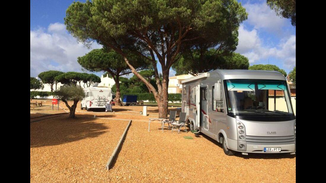 Algarve Motorhome Park Falésia