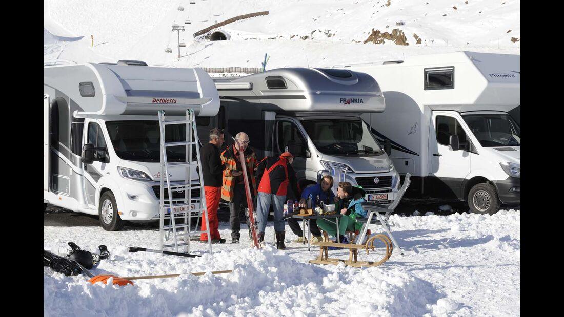 Alkoven, Winter, Wintertest, Schnee