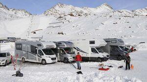 Alkoven Wintertest, Berge, Winter, Schnee