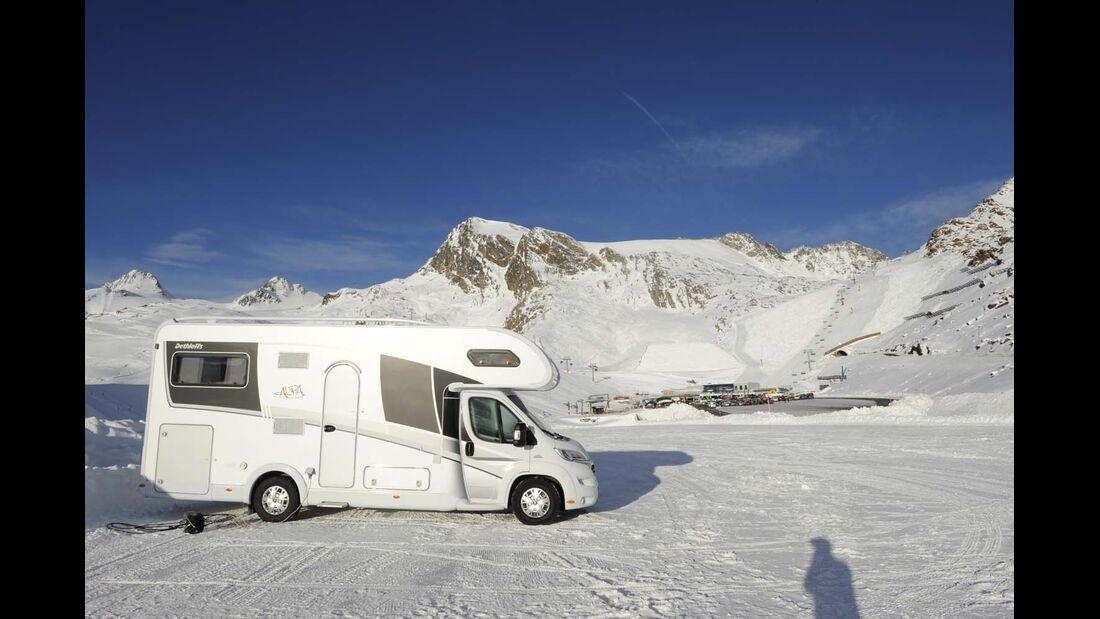 Alpa, Alkoven, Wintertest