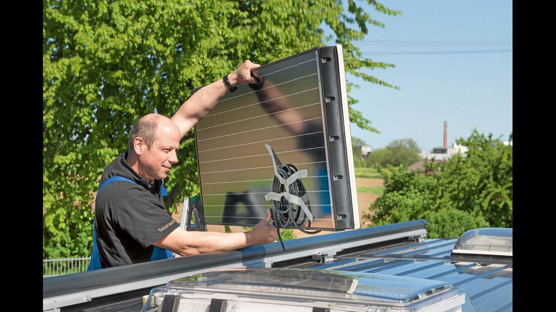 Als Energielieferant im Reisemobil können unterschiedliche Systeme dienen.
