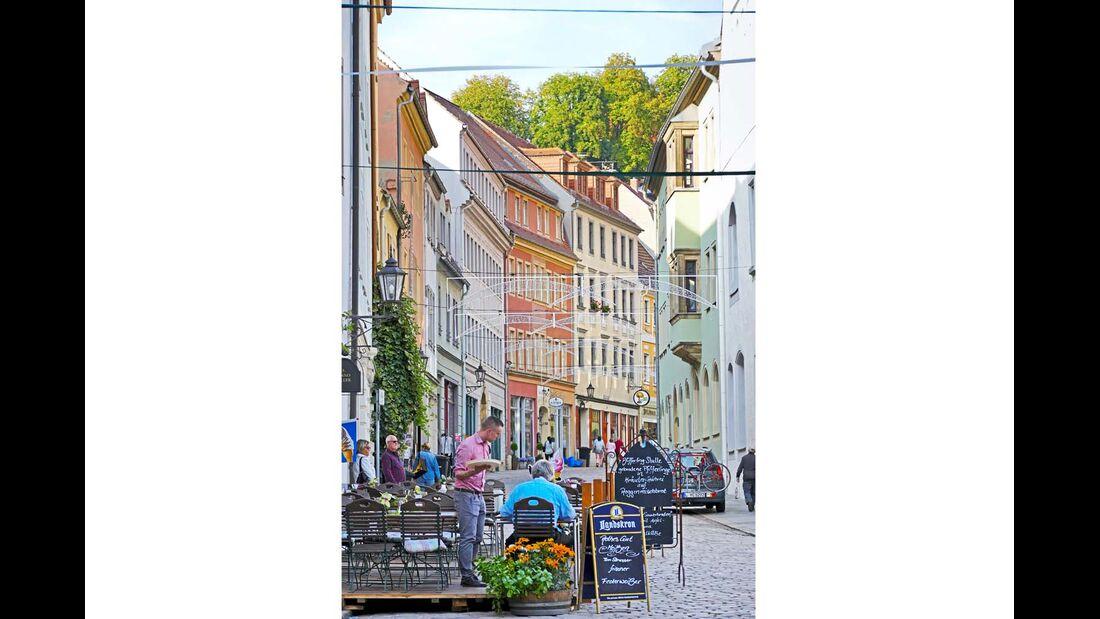 Altstadtgasse in Meißen