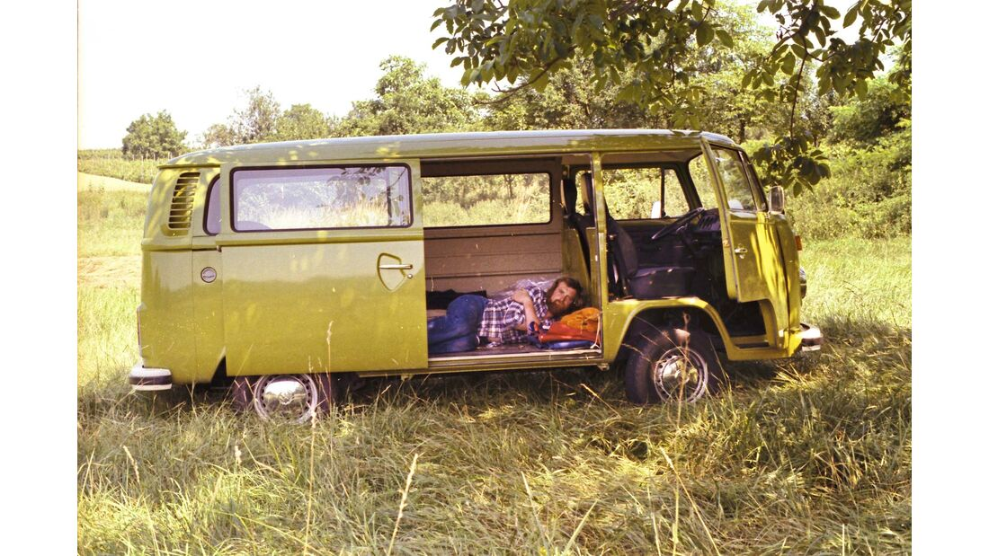 """Am 1. Juli 1977 wurde dann auch die Firma gegründet: """"FA. V. Liebe Wohnmobile"""" stand auf dem ersten Firmenschild."""