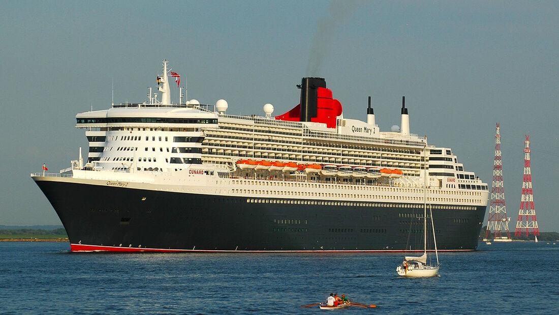 Am 19. Juli 2014 läuft die Queen Mary 2 wieder im Hamburger Hafen ein und feiert damit auf den Tag genau ihren zehnjährigen Premierenlauf.