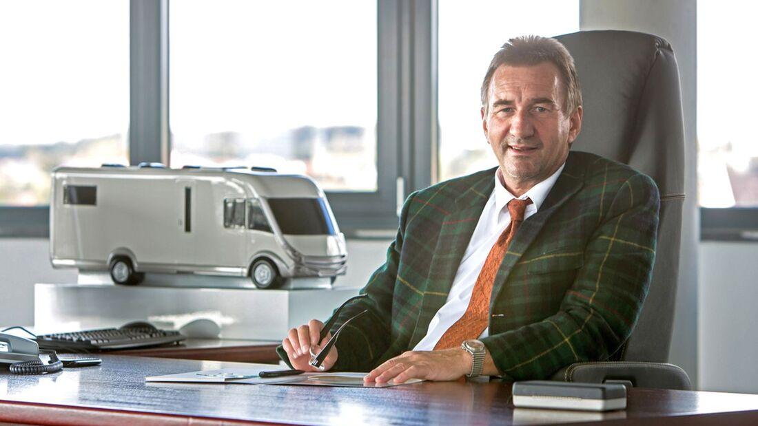 Am 2. November vollendet der Carthago-Unternehmensgründer, Karl-Heinz Schuler, das 60. Lebensjahr.