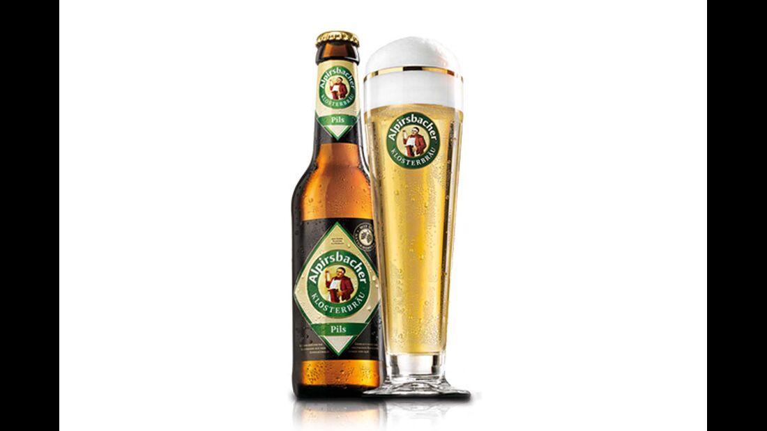 Am Kloster Alpirsbach reaktivierte 1880 Familie Glauner die stillgelegte Brauerei