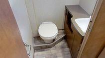 Amerikanische Toilette