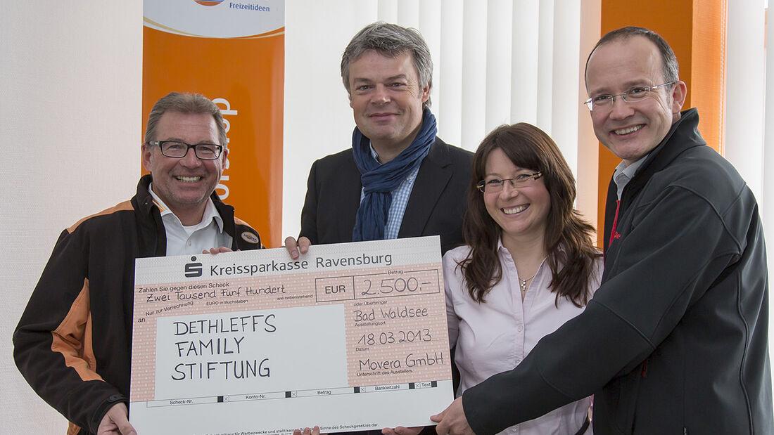 """Anfang März wurde die Buchreihe """"Alles über …"""" von Movera mit dem Deutschen Camping-Preis 2013 ausgezeichnet."""