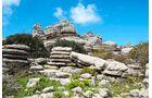 Antequera: Die bizarre Felslandschaft El Torcal wurde zum Welterbe erklärt.