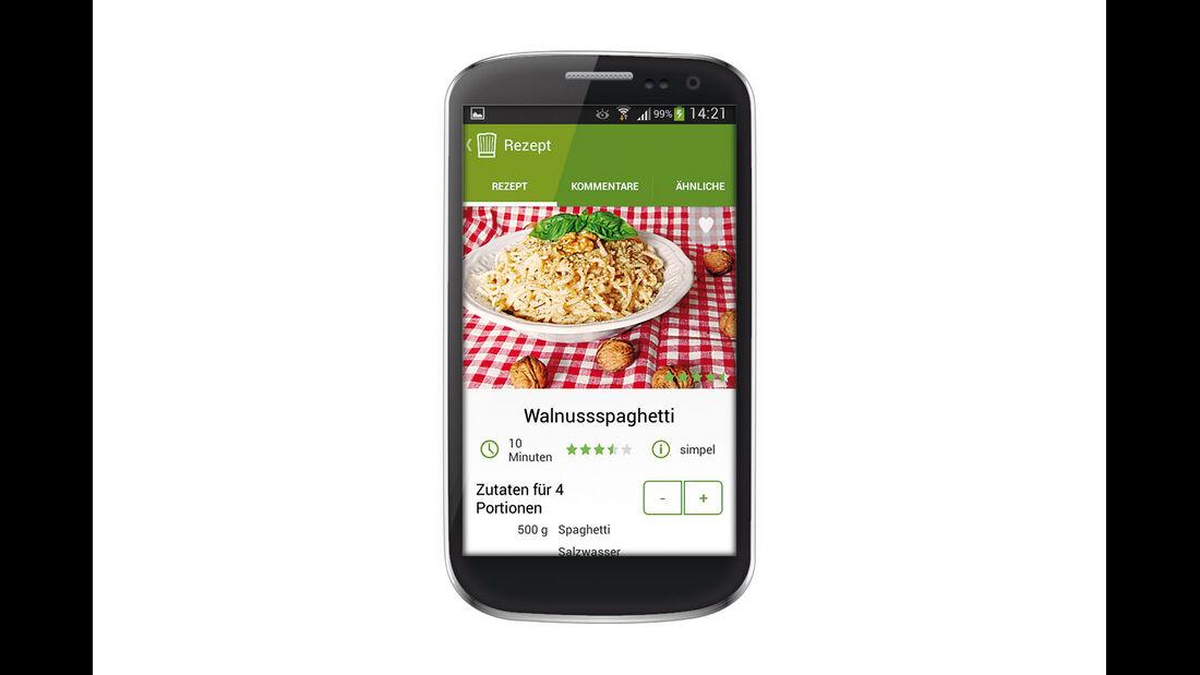 App für Kochrezepte