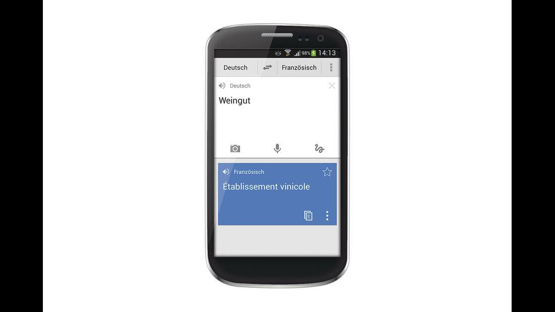 App für Sprachübersetzungen