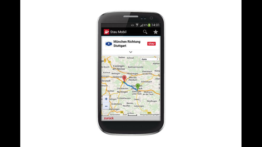 App für Verkehrsnachrichten