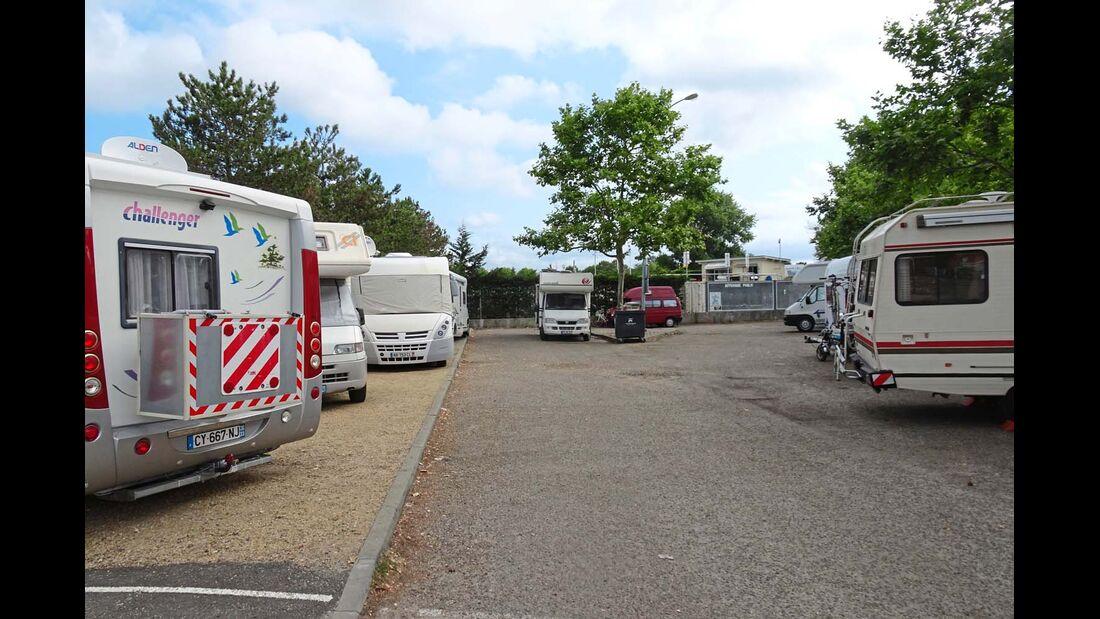 Arcachon Aire de Camping Car in La Teste-de-Buch