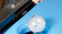 Auch metallisches Silber gibt konservierende Ionen ans Trinkwasser ab.
